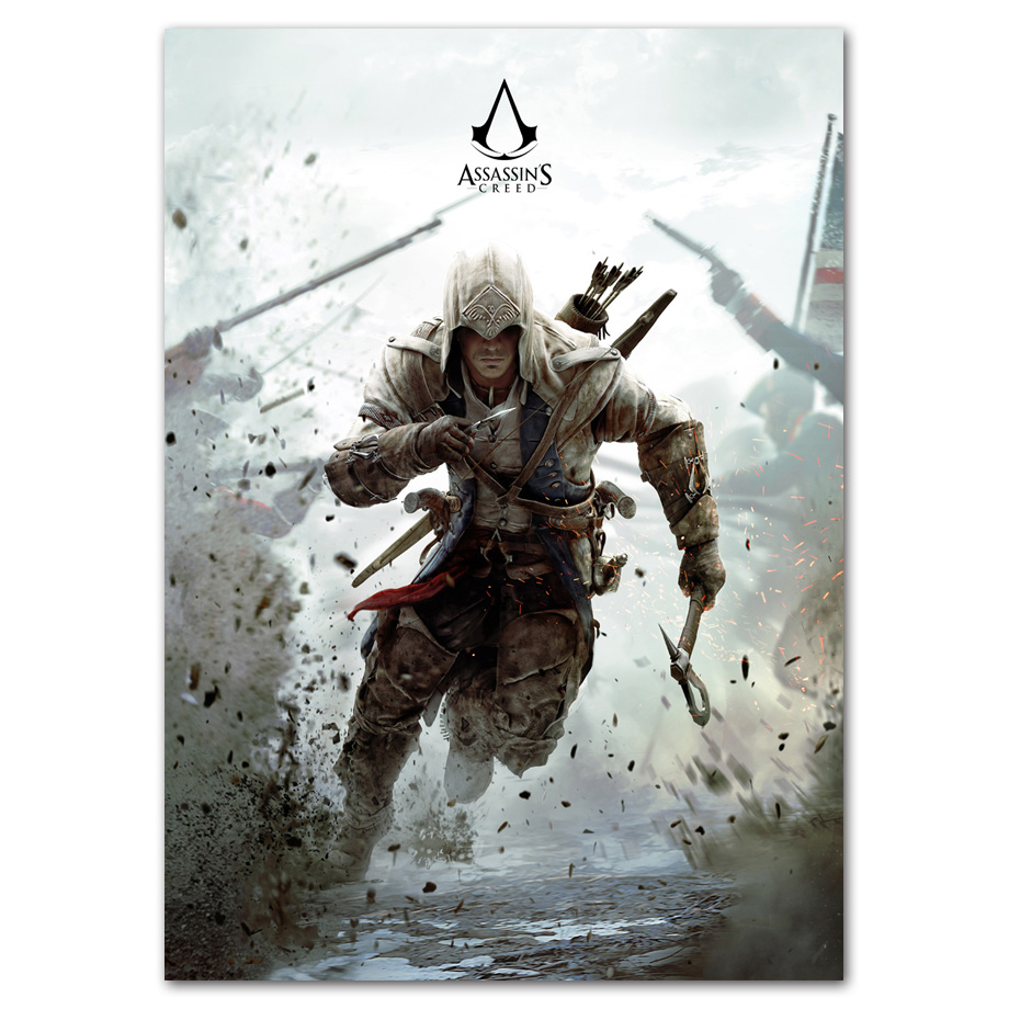 Assassin S Creed Wall Art Canvas Painting Pop Game Posters Prints