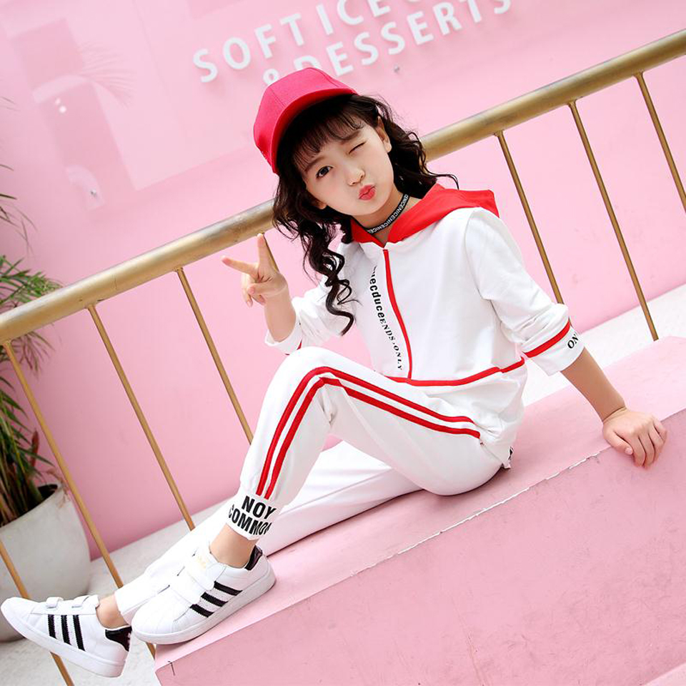 2018 Fashion Tracksuit Clothes set Kids Spring&Autumn Cotton School Uniform Sport Suit Boys Clothing Sets 4 6 8 10 12 year