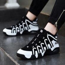 323c885295 2019 novo homem tênis de basquete respirável absorvente tênis de basquete  homens alta-top casal sapatos esportivos para as mulhe.