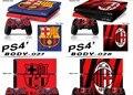 De fútbol de fútbol #1 ps4 ps4 etiqueta vinly engomada de la piel para sony ps4 playstation 4 y 2 controller skins
