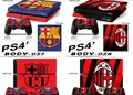 De futebol de futebol #1 pele ps4 ps4 adesivo vinly adesivo pele para sony ps4 playstation 4 e 2 peles de controlador