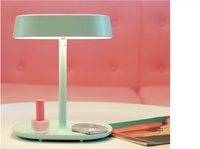 Cobrado LED de vestir espelho lâmpada de mesa lâmpada cama de armazenamento mais função espelho venda quente frete grátis