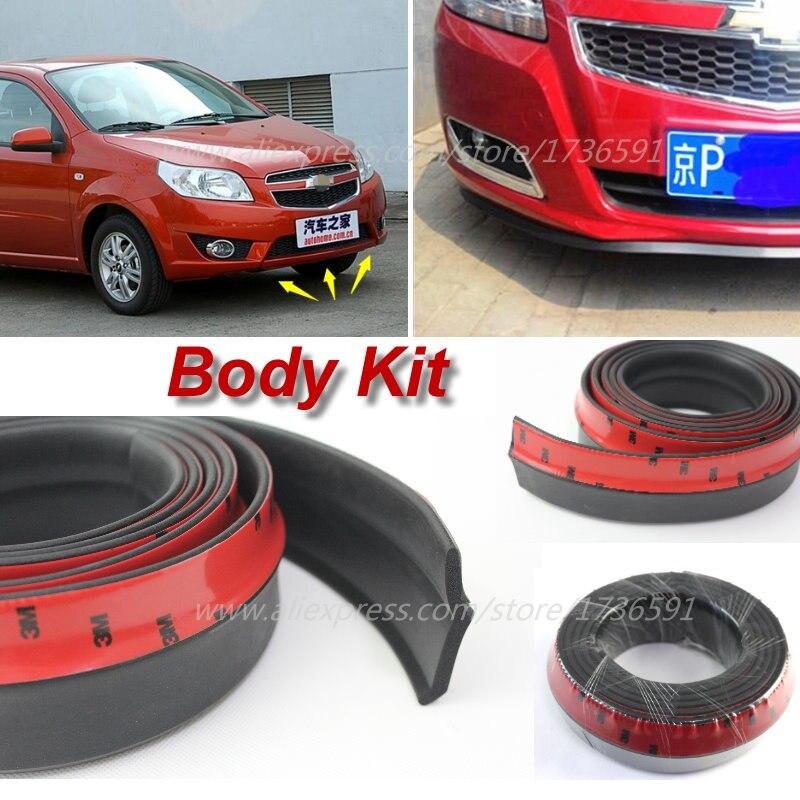 For Chevrolet Kalos Lova Car Bumper Lip Body Kit Front