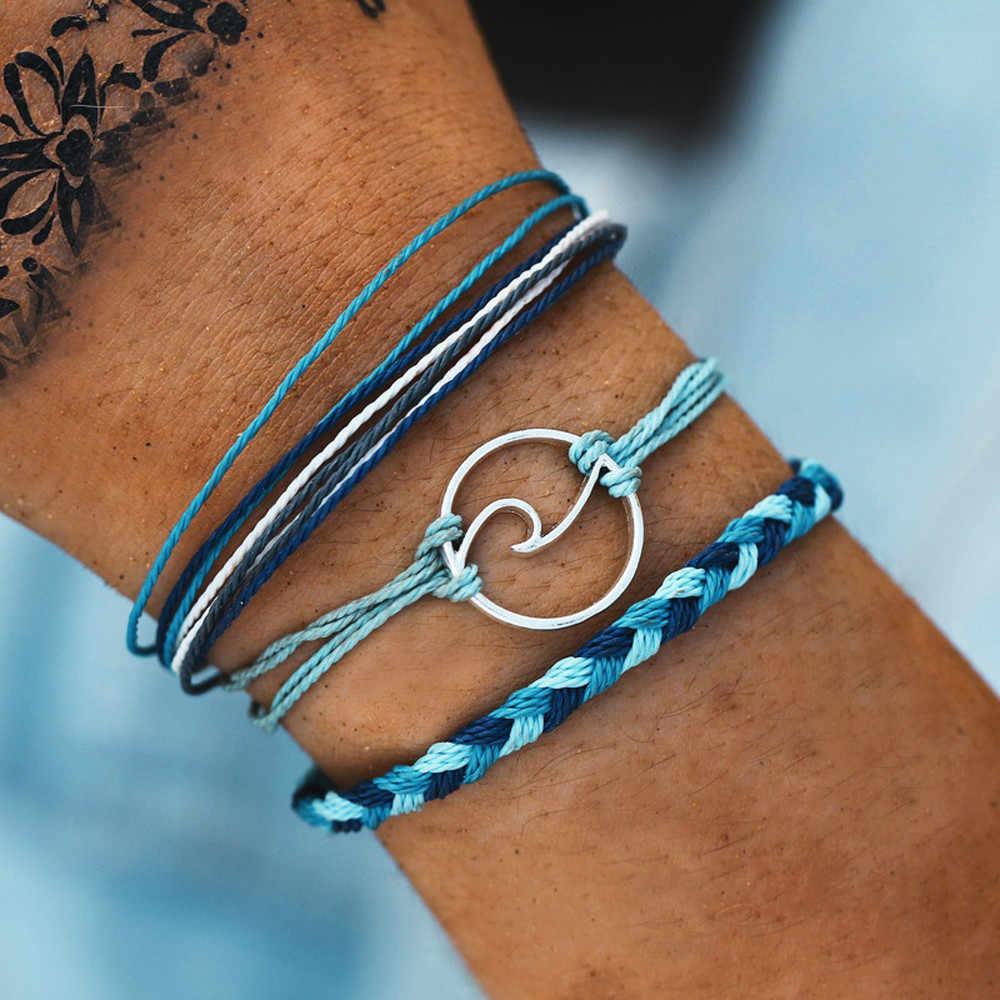 Специальное предложение Горячая МЕТАЛЛИЧЕСКАЯ ВОЛНА открытие ручной браслет ножной браслет двойной ножной браслет Серебряный подарок ремешок-цепочка