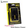Original de la Nueva Llegada Nitecore UM20 Inteligente Pantalla LCD cargador de Batería Universal Del Cargador Nitecore Cargador de Batería con el cable usb