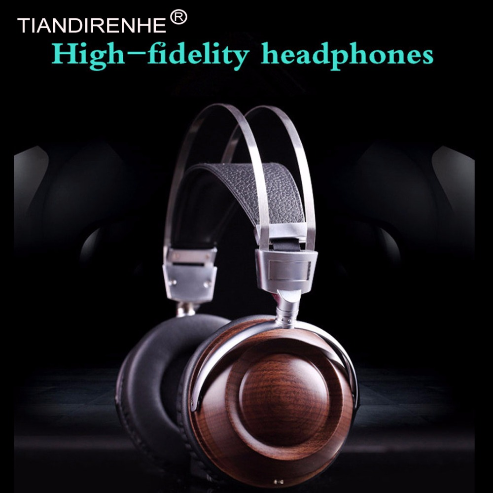 High Quality SEB6 HiFi Super Bass Wood Headphones Soundproof Over Ear Noise Canceling Dynamic PC Wooden Headset fone de ouvido phrodi pod600 original in ear bass earbud headphones hifi high quality noise canceling earphones with microphone for xiaomi ios