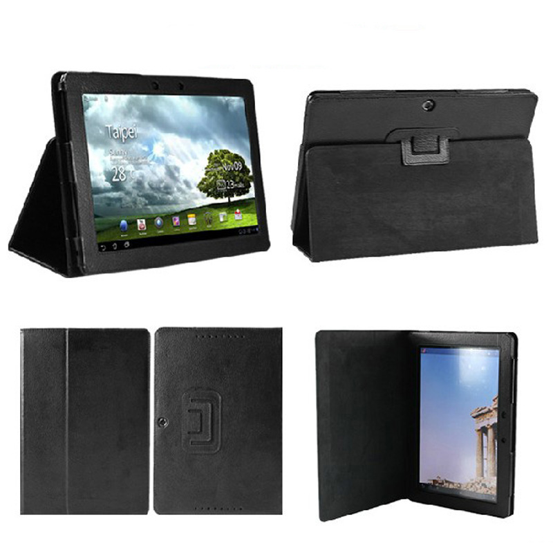New 2-Folder Luxury Magnetic Folio Stand Leather Case Protective Cover For ASUS MeMO Pad FHD 10 ME301T ME302C ME302KL K005 K00A new 2 folder luxury magnetic folio stand