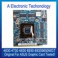 Marca Original 1 GB DDR2 Placa Gráfica Para ASUS NVIDIA 4630 4730 4930 6930 Placa de Vídeo GPU 69359650MGT Substituição testado