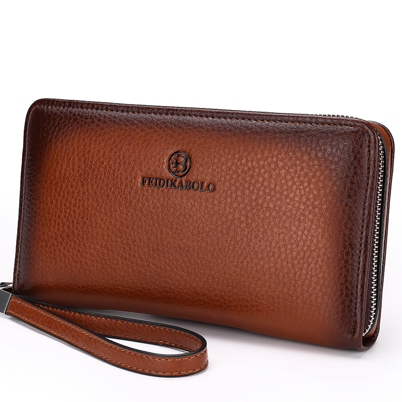 Buy Mens Wallet Leather Genuine Designer Male Purse Casual ...