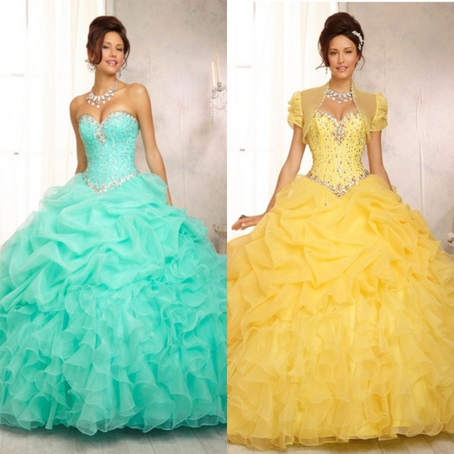 Custom Sweet 16 Dresses