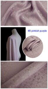 Image 4 - כבד משי חומר לוטוס אקארד משי בד עבור שמלות חולצות משי ויסקוזה