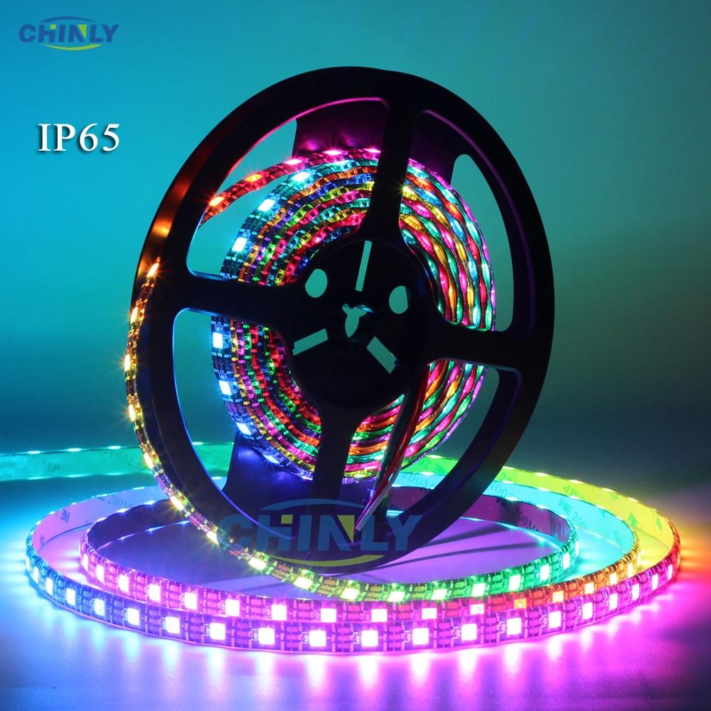 WS2812B LED sloksnes individuāli adresējamas RGB Smart pikseļi - LED Apgaismojums - Foto 2