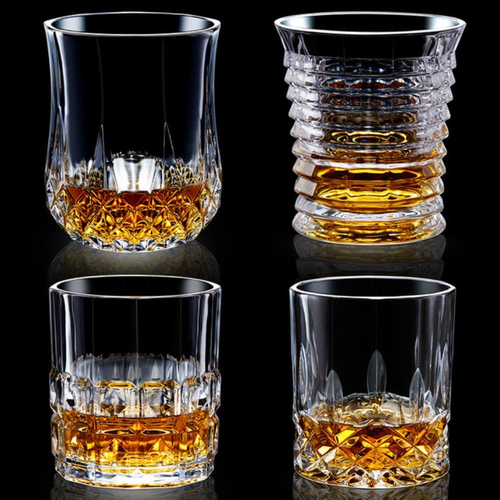 Garrafa de vinho copo de Cristal copo de uísque tazas vasos vidrio bardak verre copas copas vino cristal vodka szklanki bicchieri óculos