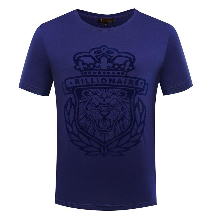 Miliarder TACE & SHARK T koszula mężczyzna 2018 lato w nowym stylu mody komfort goemetry wzór pełny kolor variou rozmiar darmowa wysyłka w Koszulki od Odzież męska na  Grupa 1