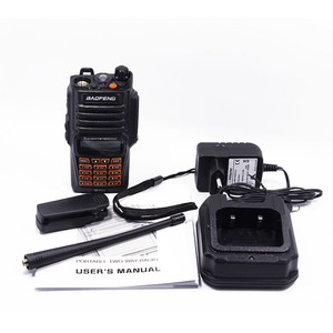 Image 5 - Baofeng UV 9R Plus 8W powerful 10km long range uv 9r Dual Band IP67 Waterproof Walkie Talkie+ Covert Air Acoustic Tube Headset