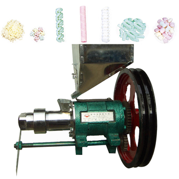 2019 new corn puffed food extruder output 15-20kg/h maize rice puffed food machine corn puff extruder with 7 dies 2 pair screws фото