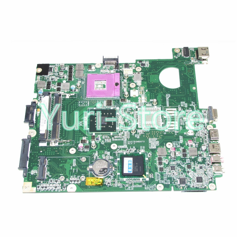 NOKOTION NEW MBNC706002 MB.NC706.002 DA0ZR6MB6H0 For acer eMachines E528 5635 laptop motherboard GL40 DDR3 mbn7602001 la 4854p laptop motherboard for acer emachines 5732 e525 intel gl40 ddr3 mb n7602 001