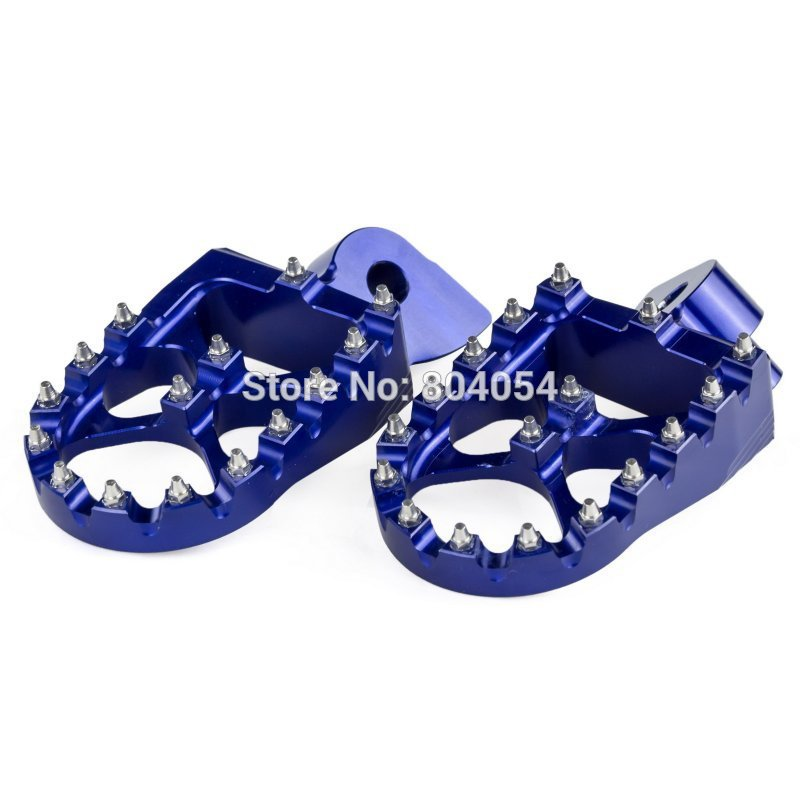 CNC Racing Foot Pegs Footrests For Yamaha YZ85 YZ125 YZ250 YZ250F YZ450F WR250F WR450F YZ125X YZ250X YZ250FX YZ450FX