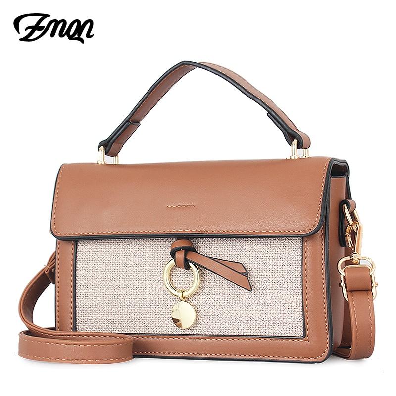 155532aca0d3 ZMQN женские сумки через плечо 2018 дамы плечо сумка через плечо для  девочек летние кожаные маленькую