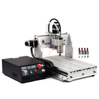 800W 3 Axis CNC Router 3040 Z cnc mini milling machine