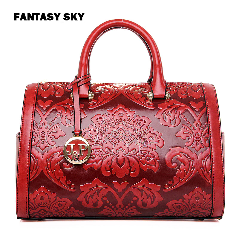 Fantasy sky fashion Chinese national style embossed PU floral youth women handbag casual classic hot red crossbody messenger bag nordic led wall lamp contracted and contemporary artistic personality tv wall lamps the head of a bed lamp corridor lamp