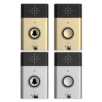 2017 New 1 transmitter+1 receiver Wireless Doorbell With Voice Intercom 300M Distance Free Shiping NG4S