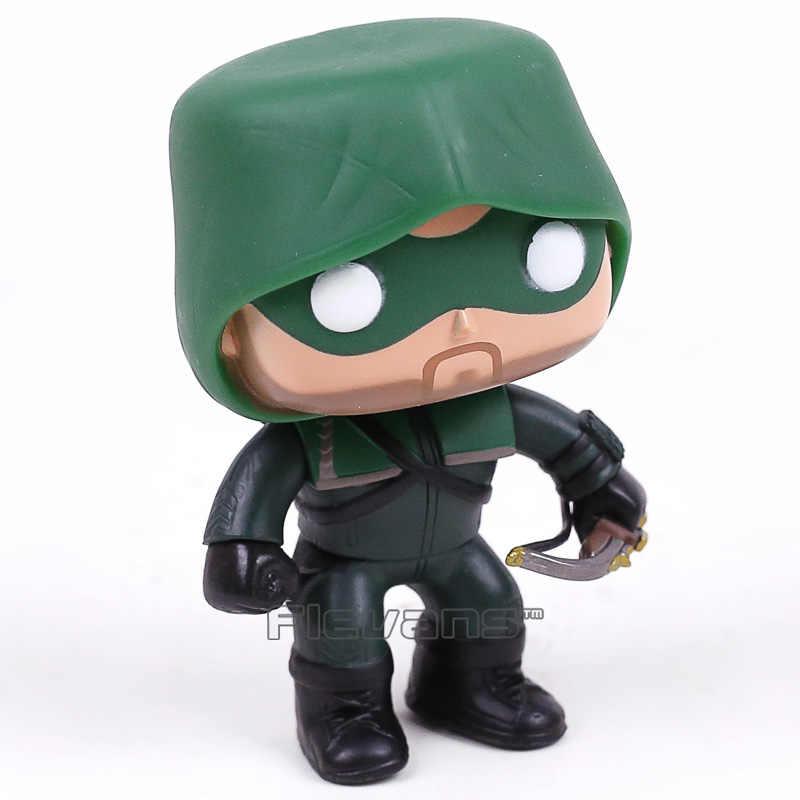 DC COMICS телевидении Зеленая Стрела 207 винил качающейся головой Рисунок Коллекционная модель игрушки с розничной коробке