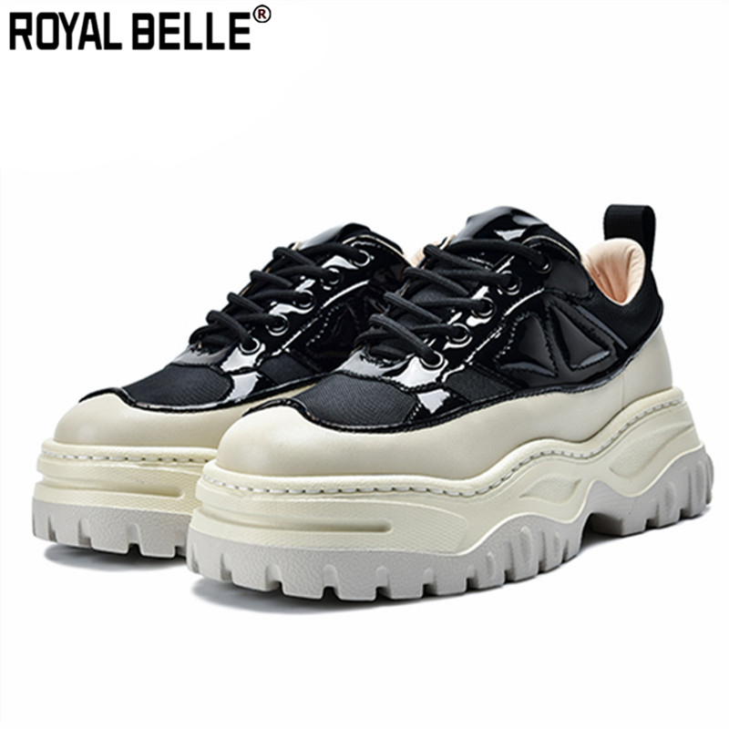 Einfach Royal Belle Frau Espadrilles Tenis Feminino Wohnungen Schwarz Frauen Turnschuhe Atmungsaktive Lace Up Plattform Creepers Beiläufige Flache Schuhe Von Der Konsumierenden öFfentlichkeit Hoch Gelobt Und GeschäTzt Zu Werden