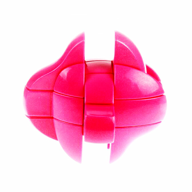 Yongjun Love Strange Shape Magic Cube Brain Teaser Speed Square Educational Stress Puzzle Cube Toys for Chidren Gift for Couple