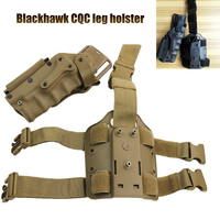 Hunting Tactical Black/tan Holster Thigh Gun Holsters airsoft Pistol Universal Holster for Gl 17 Colt 1911 M92 M9 SIG P2022 P226