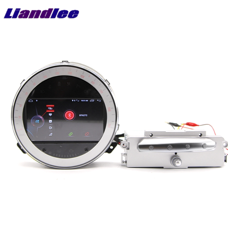 Discount Liandlee Car Multimedia No DVD Player NAVI For Mini Clubman R55 2007~2014 Android system Car Radio Stereo GPS Map Navigation 11