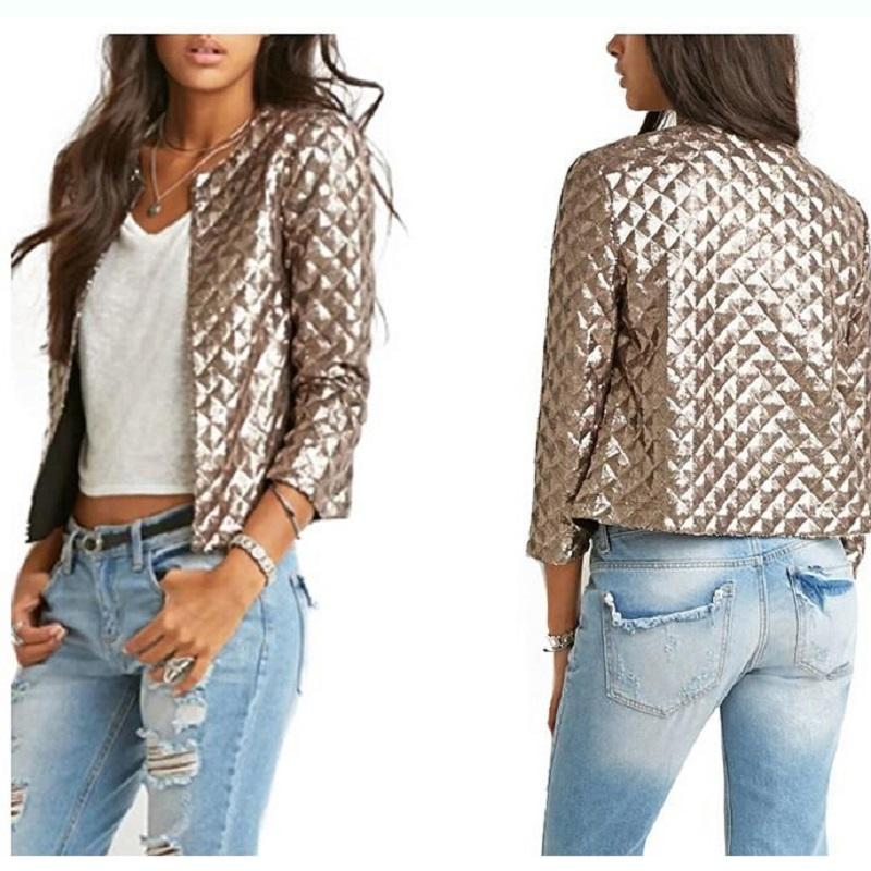 Popular Womens Jacket Gold-Buy Cheap Womens Jacket Gold lots from ...