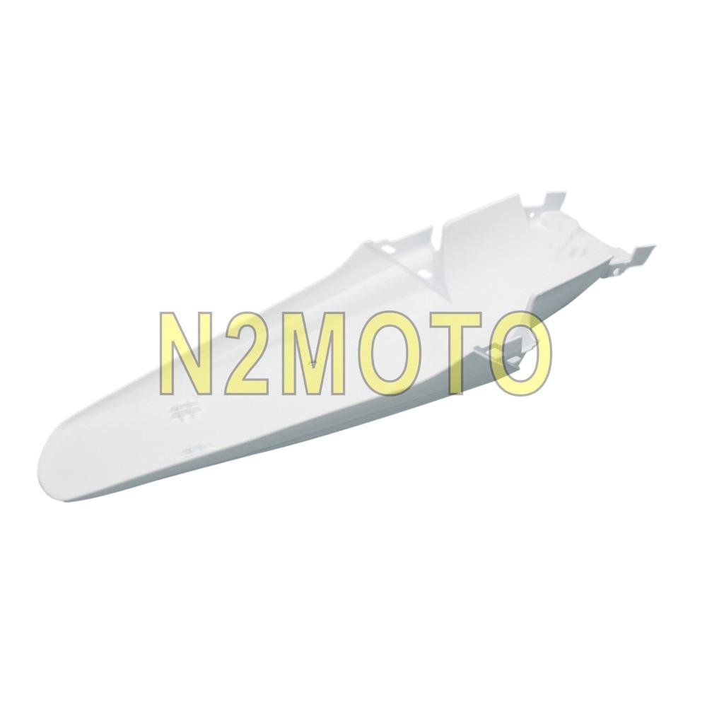 Hot Universal Motorcycle Rear Fender Mudguard White Fits Honda XR 250 R XR 400R