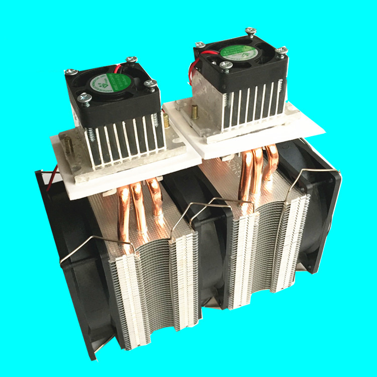 DIY Semiconductor Peltier dual-core Cooler refrigerator DC12V Computer Case Micro Air Conditioning Space Cooling radiator Kit 1u server computer copper radiator cooler cooling heatsink for intel lga 2011 active cooling