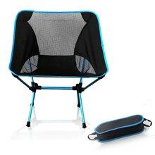 مقعد محمول خفيفة الوزن كرسي الصيد الصلبة التخييم البراز للطي أثاث خارجي حديقة المحمولة الكراسي خفيفة للغاية البرتقال