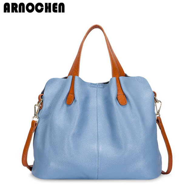 Baru 2018 Fashion Kulit Asli Tas Wanita Bahu Wanita Tas Messenger Bag wanita  High Quality WYQ019 ed5ce256ac