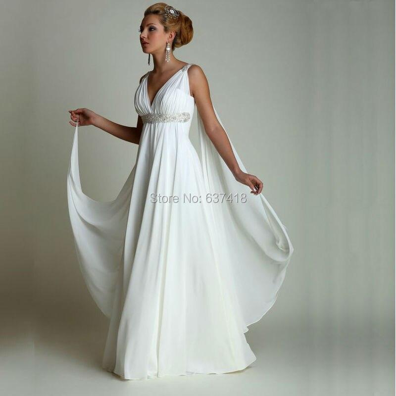 Vestiti Da Sposa X Donne Incinte.Stile Greco Abiti Da Sposa Gotico Della Boemia Di Stile Di Paese