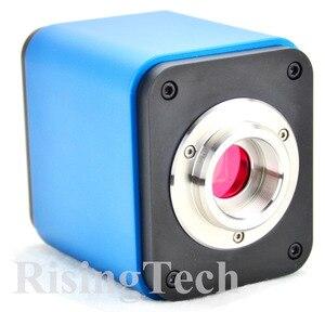 Image 2 - Профессиональный HD 1080p 60fps SONY imx237 датчик Тринокулярный C крепление цифровой видео HDMI USB микроскоп камера