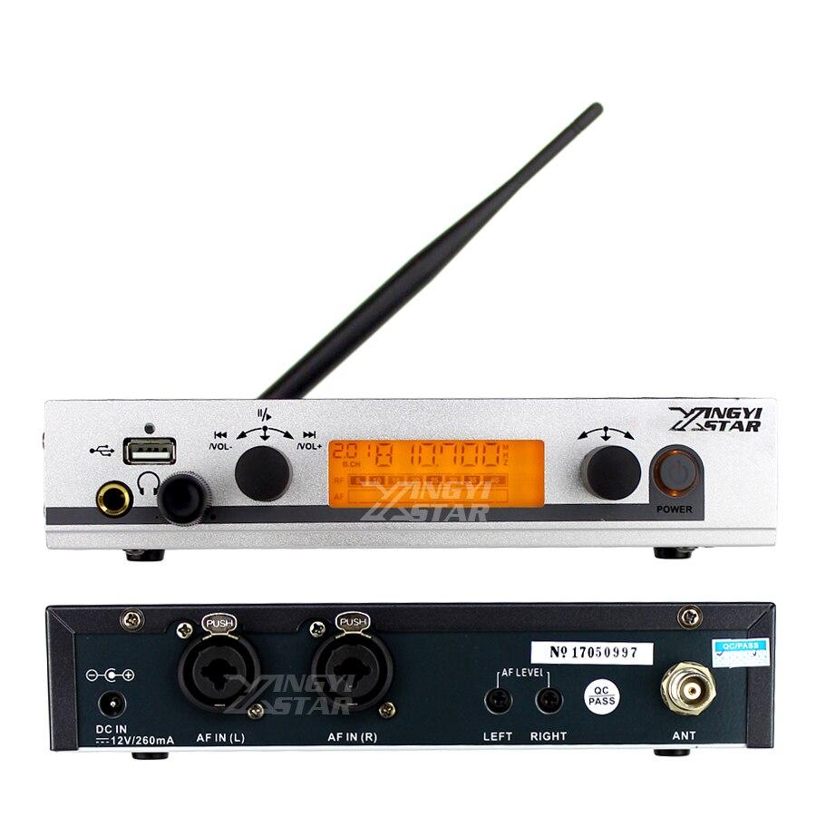 EW 300 G3 Беспроводной в ухо монитор профессиональный сценический монитор Системы 5 поясной приемник usb-передатчик S Наушники