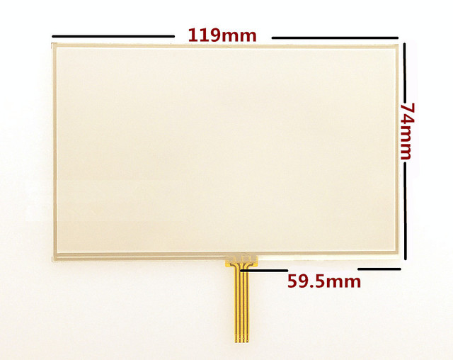 US $32 13 15% OFF|10pcs/lot New 5 inch Touch screen panels for TomTom Start  25 GPS Touch screen digitizer panel replacement Free shipping-in Tablet