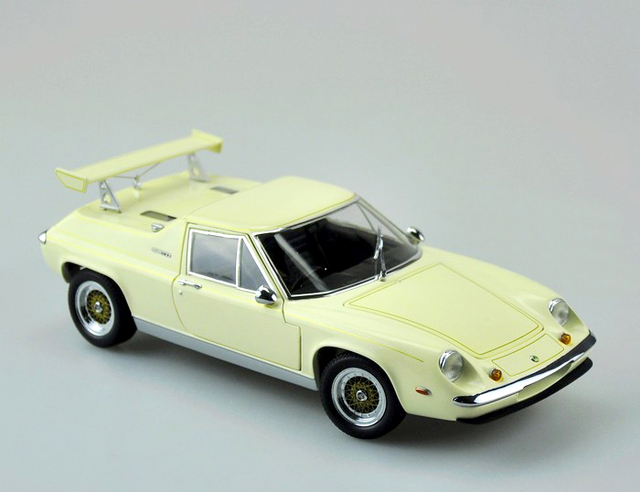 Rare 1:18 KY SHO Británico Lotus Racing Modelo modelos de automóviles de Aleación Modelo de Favoritos