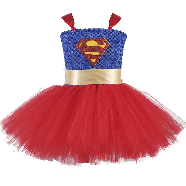 Super Heroine Cosplay Dress
