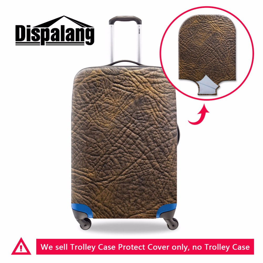 38788fea110e7 دنة الأمتعة يغطي الأزياء الغبار حقيبة يغطي واقية للماء غطاء للمطر تنطبق على  السفر حالة ل 18-30 بوصة