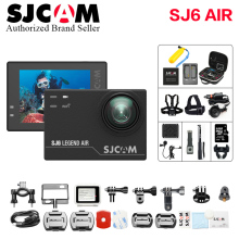 100% Original SJCAM SJ6 Legend Air Gyro 4K Wifi Action Helmet Sports DV Camera Waterproof NTK96660 2.0″ Touch Screen  wi fi cam