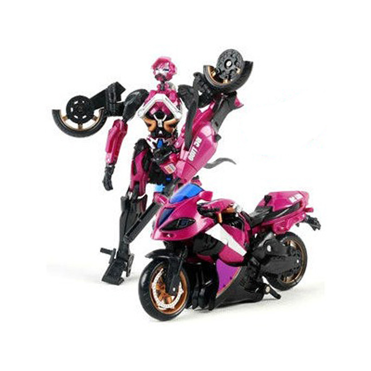 Motorcycle Model Transformative Al West Carroll Robot Car Action toys Anime Plastic Toys Figure Boys Gift For Boy