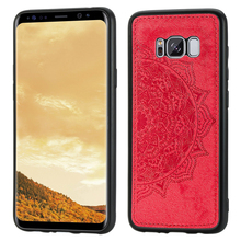 For Samsung Galaxy S8 Plus Case Cover 3D Luxury Cloth Fabric Phone