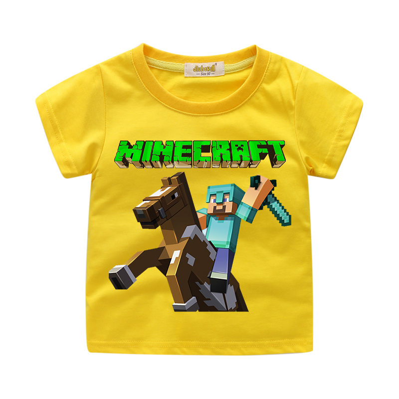 Minecraft S Ube Battle Gamer Youth Kids T Shirt