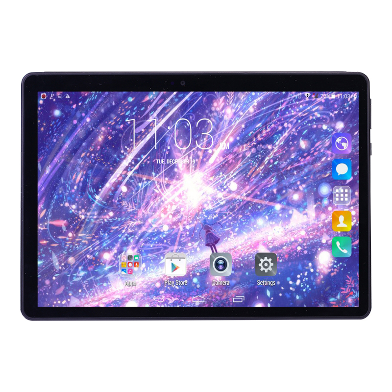 IBOPAIDA планшеты 10,1 дюймов 4 ядра 2 Гб RAM16GB Встроенная память андроид 10 дюймовый планшетный ПК 32 ГБ 1280*800 ips, две камеры, 3g планшет с сим картой 10,1