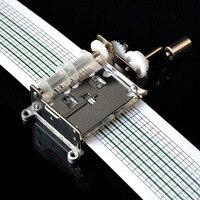 Движение Руки DIY Аудио Клейкие ленты Music Box DIY сочинять музыку спектра рукоятка работает перфорированные и перфоратора и 20 примечание Бумага ...