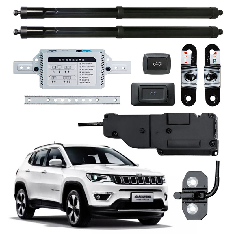 Smart Auto Elettrica di Coda Porta di Sollevamento Speciale per Jeep Compass 2017 con il FermoSmart Auto Elettrica di Coda Porta di Sollevamento Speciale per Jeep Compass 2017 con il Fermo